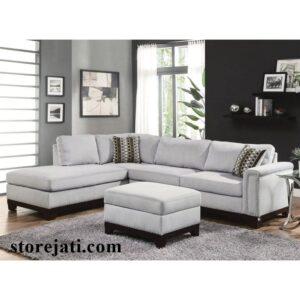 sofa leter l minimalis modern