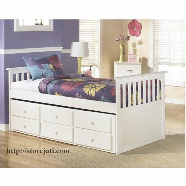 tempat tidur sorong anak