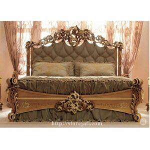 tempat tidur ukiran jepara