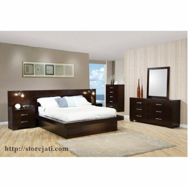 kamar tidur utama mewah elegan
