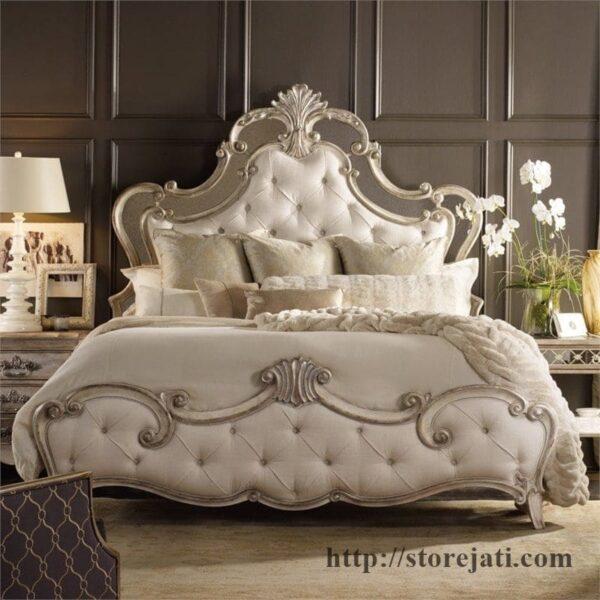 tempat tidur ukir jepara mewah