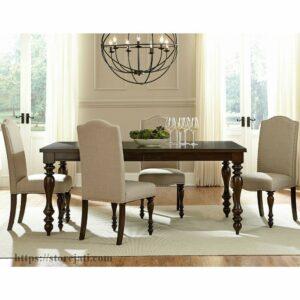 kursi makan kayu minimalis