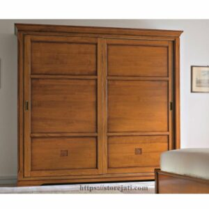 lemari sliding 2 pintu jumbo