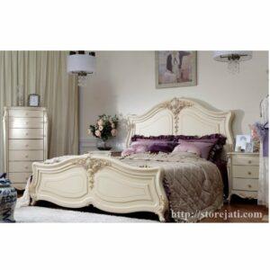 tempat tidur dipan ukiran