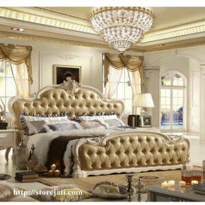 tempat tidur ukir jepara