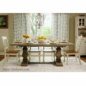 meja makan jepara 4 kursi