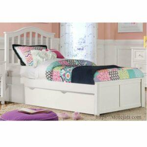tempat tidur anak 2 in 1 sorong