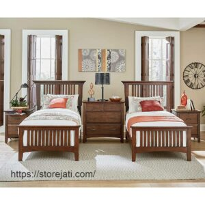 kamar tidur anak kembar