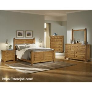 tempat tidur minimalis satu set
