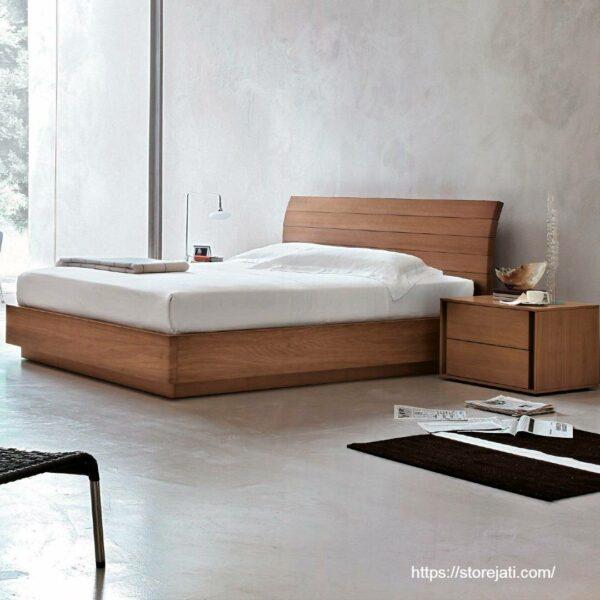 kamar tidur minimalis dengan ruang sempit
